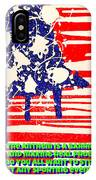 Don't Play The Anthem At Any Sporting Events. IPhone Case