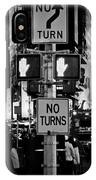 Don't Walk At Times Square IPhone Case
