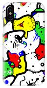 Doodle Abstract IPhone Case