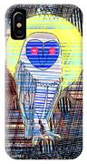 Doodle Buho IPhone Case