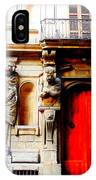 Door To Milan IPhone Case by Michelle Dallocchio
