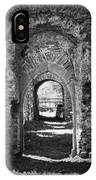 Doors At Ballybeg Priory In Buttevant Ireland IPhone Case