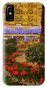 Dorchester Hotel London At Christmas IPhone Case