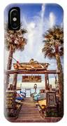 Dory Fishing Fleet Market Picture Newport Beach IPhone Case