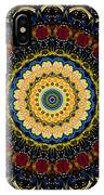 Dotted Wishes No. 6 Mandala IPhone Case