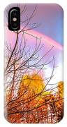 Double Rainbow-hdr IPhone Case