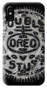 Double Stuff Oreo IPhone Case