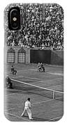 Doubles Tennis At Forest Hills IPhone Case