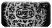 Doulble Stuff Oreo In Black And White IPhone X Case