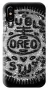 Doulble Stuff Oreo In Black And White IPhone Case