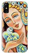 Dove Forest Fairy IPhone Case