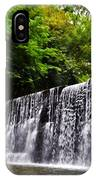 Dove Lake Waterfall IPhone Case