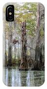 Down On The Bayou - Digital Painting IPhone Case