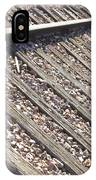 Down The Railroad IPhone Case