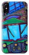 Down Town Trolley IPhone Case