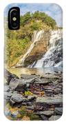 Downstream From Ithaca Falls IPhone Case