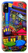 Downtown Attractions IPhone Case