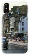 Downtown Edinburgh  IPhone Case