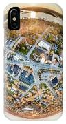 Downtown Mukwonago Little Planet IPhone Case