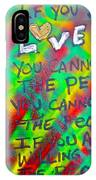 Dr. Cornel West  Love The People IPhone Case