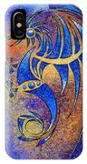 Dragissous V1 - Blue Dragon IPhone Case