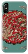 Dragon And Phoenix IPhone Case
