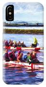 Dragon Boats IPhone Case