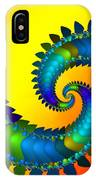 Dragon Tail Meeting IPhone Case