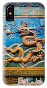 Dragon Wall IPhone Case