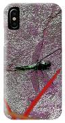 Dragonfly 3 IPhone Case