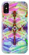 Dragonfly Mandala IPhone Case