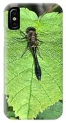 Dragonfly Resting IPhone X Case