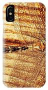 Dragonfly Sepia IPhone Case