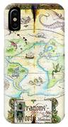 Dragons Of The World IPhone Case