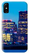 Dramatic Boston Skyline  IPhone Case