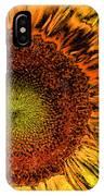 Dramatic Sunflower IPhone Case
