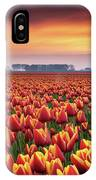 Dramatic Tulips IPhone Case