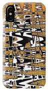 Drawing Composition Abstract IPhone Case