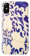 Drawing Tiles On Bairro Alto Walls In Lisbon IPhone Case