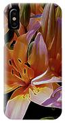 Dreaming Of Lilies 5 IPhone Case