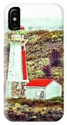Dreaming Of The Georges Island Light In Halifax IPhone Case