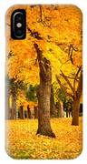 Dreamy Autumn Day IPhone Case