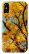 Dreamy Crisp Autumn Day IPhone Case