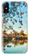 Dreamy Jefferson And Flowers IPhone Case
