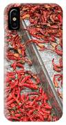 Dried Chili Peppers IPhone Case