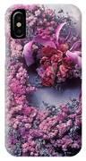 Dried Flower Heart Wreath IPhone Case
