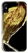 Dried Flowers With  The Slender Legs. IPhone Case