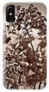 Dried Hydrangeas IPhone Case