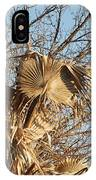 Dried Palm Fronds  IPhone Case
