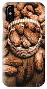 Dried Whole Peanuts In Their Seedpods IPhone Case